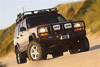 ARB 4x4 Accessories 3450080 Front; Deluxe Bull Bar; Winch Mount Bumper