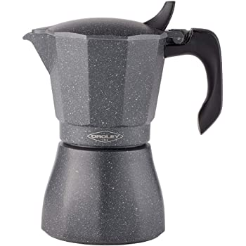 Oroley - Cafetera Italiana Petra | Base de Acero Inoxidable | 12 ...