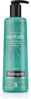 Neutrogena Rainbath Replenishing and Cleansing Shower and Bath Gel, Moisturizing Body Wash and Shaving Gel with Clean Rins...