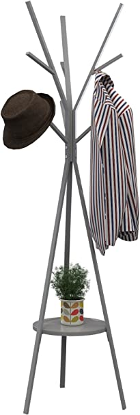 Amazon.com: Homebi Coat Rack Hat Stand Free Standing Display Hall