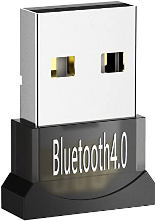 【Garantie à vie】Mpow USB Bluetooth 4.0 Clé Bluetooth Mini Adaptateur Dongle Sans Fil pour PC Windows 10/8/7/XP, Vista, Plug&Play ou Pilote IVT, Pour Équipement Bluetooth/Casque/Enceinte/Souris/Clavier