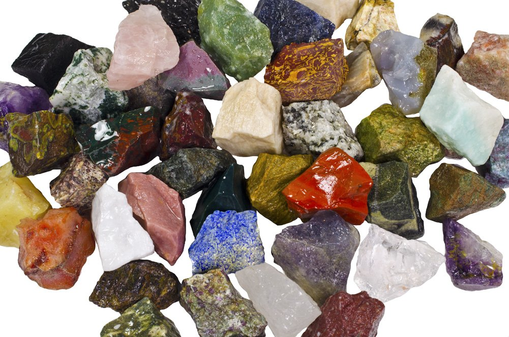 Cabbing Crystal Healing Large 1 Natural Raw Stones /& Fountain Rocks for Tumbling Hypnotic Gems 3 lbs of a Bulk Rough SOUTH AMERICAN Stone Mix A Beautiful Stone Mix