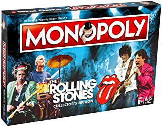 rolling stones monopoly collector's edition