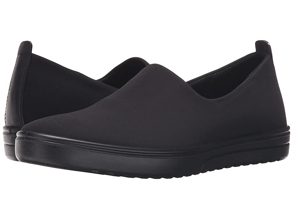 ECCO Fara Slip-On (Black/Black 1) Women