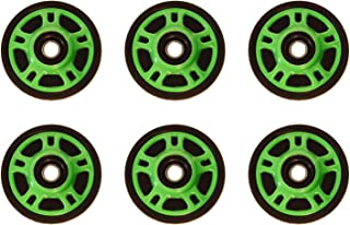 PDD Front & Mid Rail Neon Green Idler Wheels Kit for Snowmobile ARCTIC CAT Mountain Cat 900 2002-2004