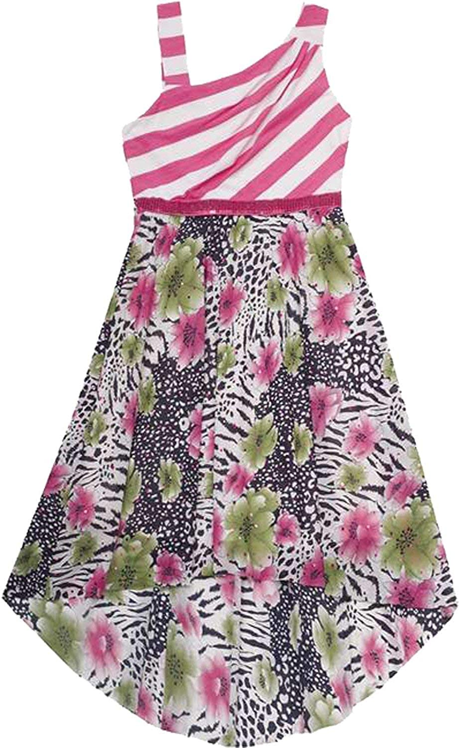 Rare Editions Little-Big Girls High-Low Social Party Dress