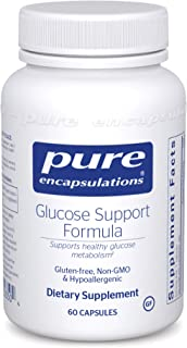 Pure Encapsulations - Glucose Support Formula - Hypoallergenic Supplement Supports Healthy Pancreas Function and Glucose M...