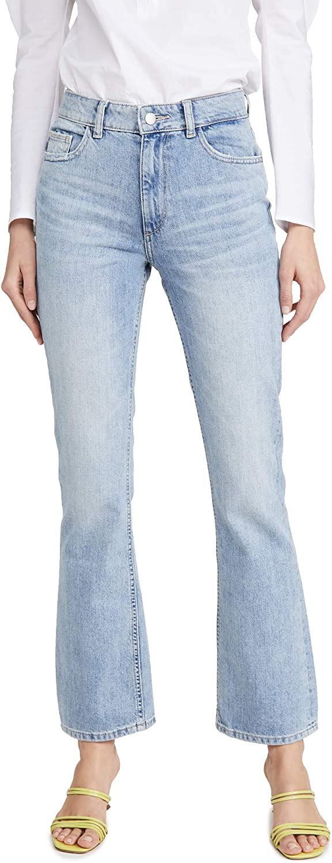 DL1961 Women's Bridget High Rise Bootcut Fit Jeans