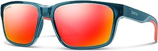 Smith Basecamp 201929OXZ59X6 Mens Crystal Mediterranean Frame Red Mirror ChromaPop Square Sunglasses