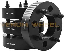 4 Pc 4x156mm Polaris RZR 900 1000 Xp Turbo Black 2