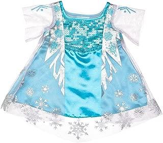 Build a Bear Frozen Elsa Costume Dress