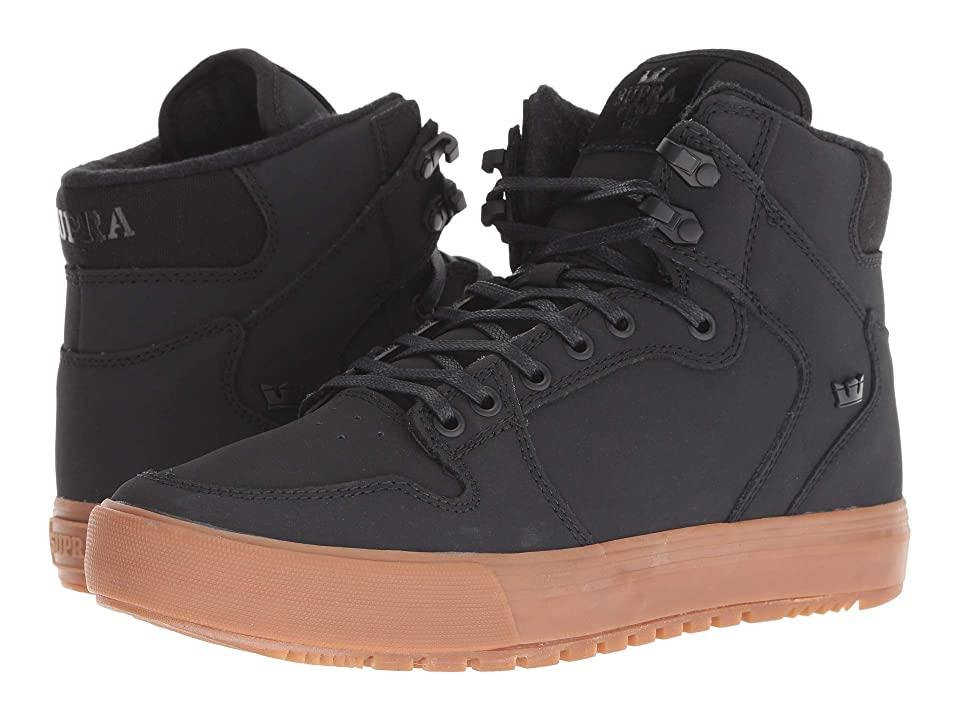 Supra Vaider (Winter) (Black/Black/Gum) Men