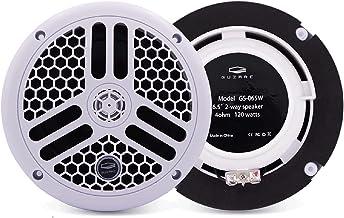 $79 » Sponsored Ad - 6.5 Inch Marine Speakers - Guzare 2 Way Marine Waterproof Speakers Outdoor Music Speaker with 240Watts for ...