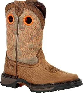 Durango Lil Maverick XP Big Kid's Bay Brown Western Boot