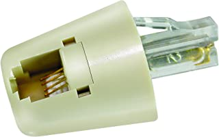 Softalk 01505 Twisstop Phone Cord Detangler Ivory Landline Telephone Accessory