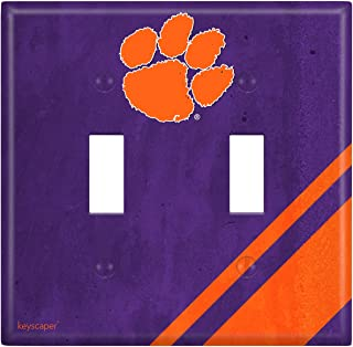 Keyscaper NCAA Double Toggle Light Switch Cover in 57'