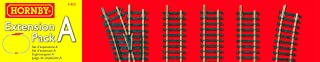 Hornby Track Extension Pack A Model Railway Track Train