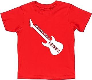 HippoWarehouse Nacido Para Tocar La Guitarra (Eléctrica) camiseta manga corta niños niñas unisex