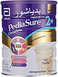 PediaSure Complete And Balance Nutrition Vanilla Flavour For 2-10 Years Old, 900g
