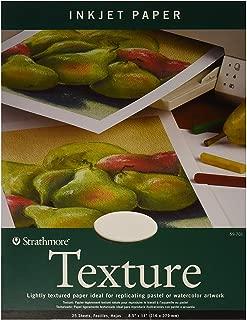 Strathmore (59-701 Textured Inkjet Paper, 8.5