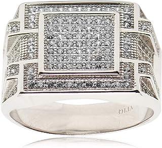 Atiq Womens 925 Sterling Silver Fashion Ring - RH0208-SR-7, Color Silver, Size 7