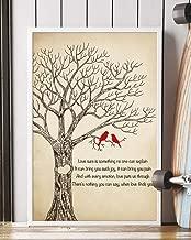 When Love Finds You Song Lyrics Mattata Decor Gift Portrait Poster Print (12
