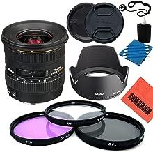 Sigma 10-20mm f/4-5.6 EX DC HSM Lens for Nikon Digital SLR Cameras - Starter Kit