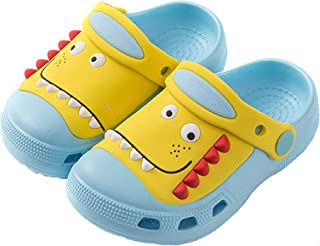 Sabots Mules Enfants Chaussures de Jardin Antidérapant Pantoufles Maison Respirante Sandales de Plage et Piscine pour Bébé...