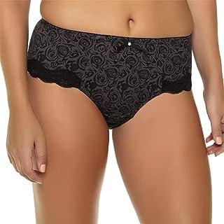 26b88390f63 MRxcff Women Floral Printed Panty Plus Size High Waist Underwear XL -7XL