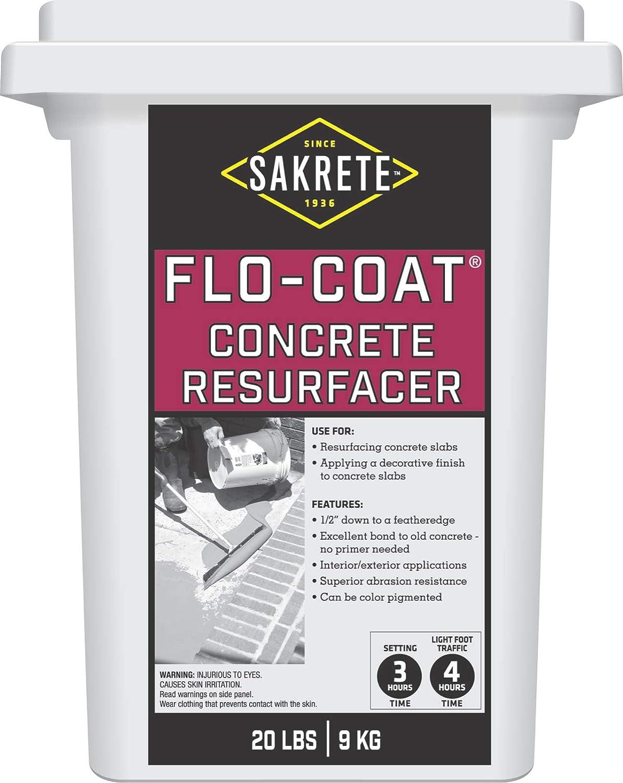 SAKRETE Flo-Coat Concrete 20 Inventory cleanup Ranking TOP2 selling sale Resurfacer lb