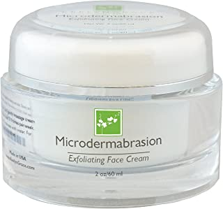 Microdermabrasion Scrub | Facial Exfoliator Evens Skin Tone & Improves Texture - Made with Jojoba Esters, Anti Aging, Antioxidant Packed - Revitalizes & Reduces Appearance of Wrinkles and Fine Lines.