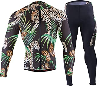 Gold Black Jungle Butterfly Panther Men's Cycling Jersey Set Breathable Quick-Dry MTB Road Bike Luxury