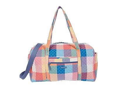 Vera Bradley Large Travel Duffel (Tropics Plaid) Handbags