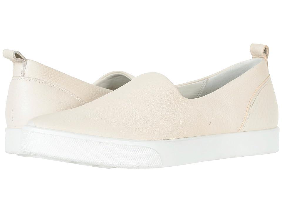 ECCO Gillian Slip-On (Vanilla Cow Leather) Women
