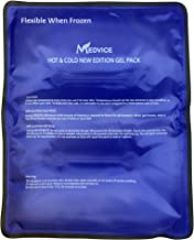 """Dual Gel Cold & Hot Pack - 11.5""""x14.25"""" Reusable Large Ice Packs for Injuries and Back Pain, Neck Pain, Shoulder Pain, and..."""