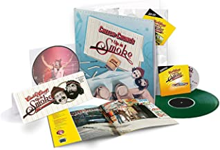 Cheech & Chong - Up In Smoke 40th Anniversary Deluxe Collector's Edition Exclusive Green Vinyl with CD and Blu-ray Box Set