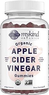 Apple Cider Vinegar Gummies by Garden of Life mykind Organics – USDA Organic ACV Gummy Vitamins made with Real Fruit Blen...