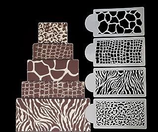 giraffe print template