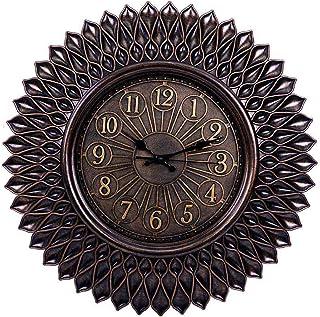 Pan Emirates Alcott Wall Clock, 55.8 x 5 cm, Brown
