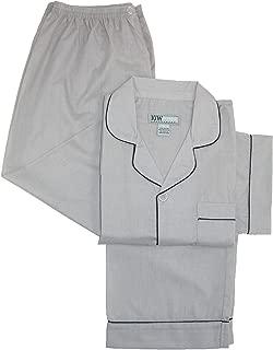Ten West Apparel Men's Short Sleeve Long Leg Solid Pajama Set