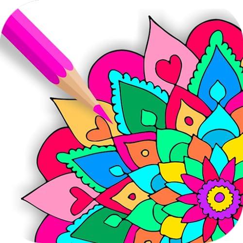 Relax Mandala Coloring Book