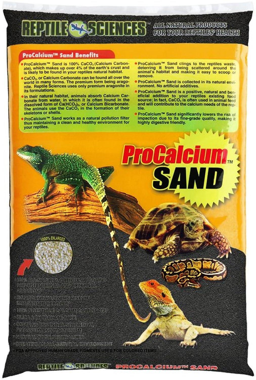 Reptile Sciences Terrarium Sand, 10Pound, Black