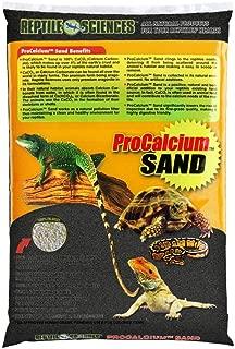 Reptile Sciences Terrarium Sand, 10-Pound, Black