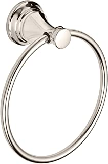 American Standard 7052190.013 Delancey Towel Ring, Polished Nickel