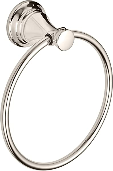 American Standard 7052190 013 Delancey Towel Ring Polished Nickel