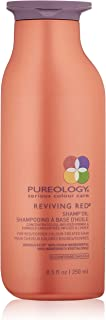 Pureology | Reviving Red Shamp Oil | For Red & Copper Color Treated Hair | Sulfate-Free | Vegan | 8.5 oz.