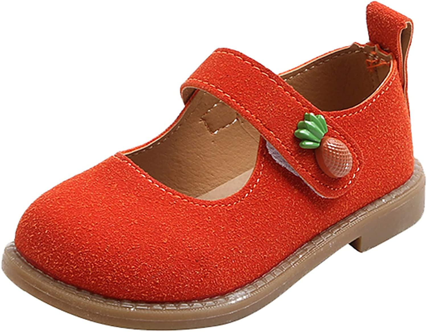 Baby Kids Girl Cute Flower Soft Non-Slip PU Party Regular discount Bottom Shoes L Max 67% OFF