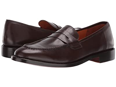 CARLOS by Carlos Santana Crucero Penny Loafer (Mocha Calfskin Leather) Men