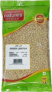 Natures Choice Lentils Green Lentils - 500 gm