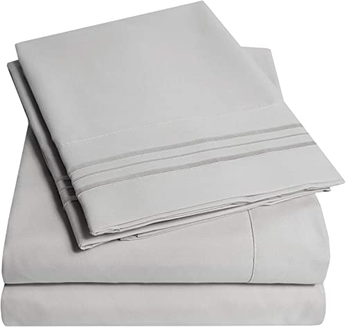 1500 Supreme Collection Bed Sheet Set - Extra Soft, Elastic Corner Straps, Deep Pockets, Wrinkle Free, Hypoallergenic...